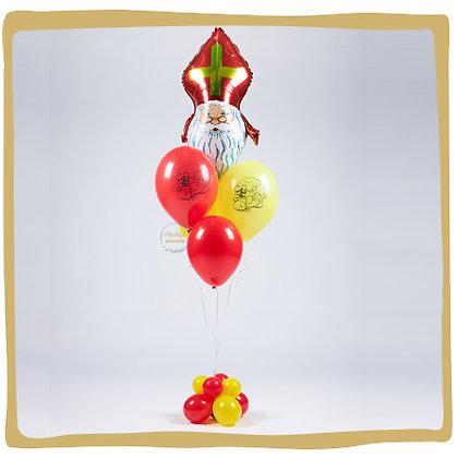 Sinterklaas Helium Boeket