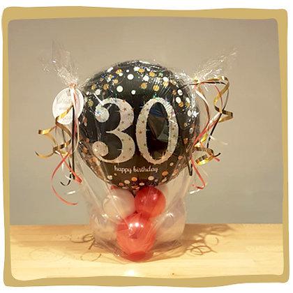 30th Birthday - Ballongeschenk