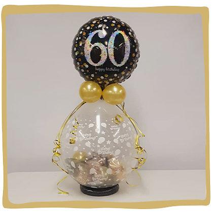 Cadeauballon 60 jaar