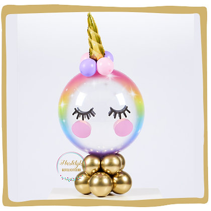 Elegant Unicorn Bubble