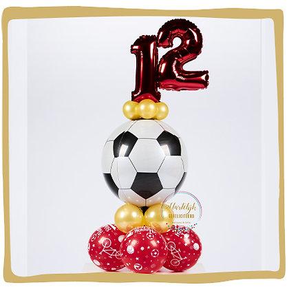 Voetbal Verjaardag - Ballondecoratie