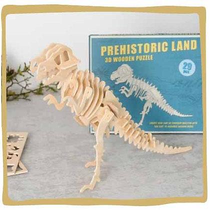 Tyrannosaurus 3D Puzzel