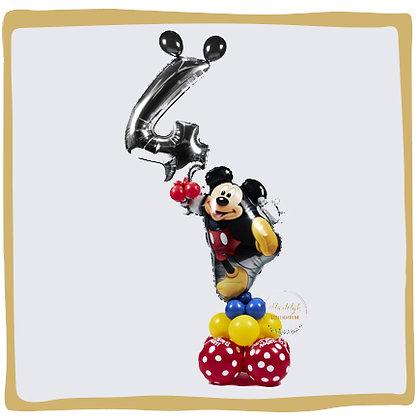 Mickey Mouse Ballonpilaar - 1m70