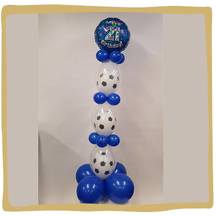 Wiebelpilaar Verjaardag Voetbal