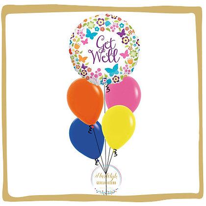 Beterschap Vlinders - Helium Ballonoeket