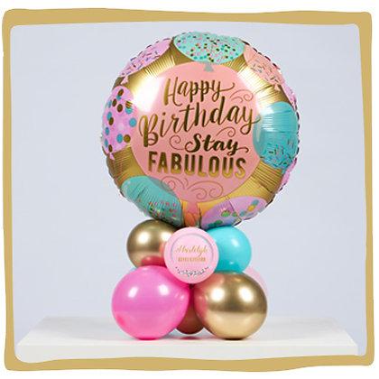 Verjaardag Stay Fabulous - Tafeldecoratie