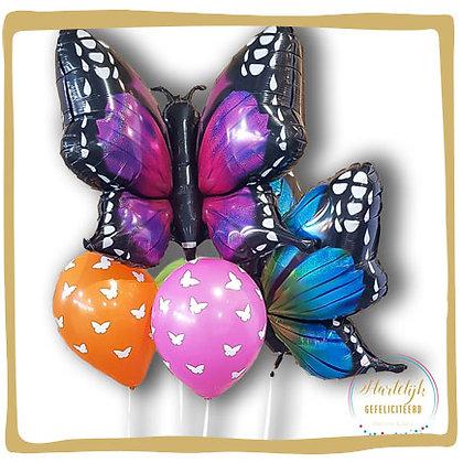 Vlinder - Maxi Ballon Boeket