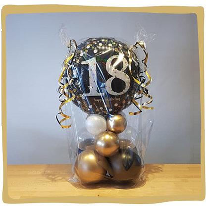 Verjaardag 18 - Geld Ballon