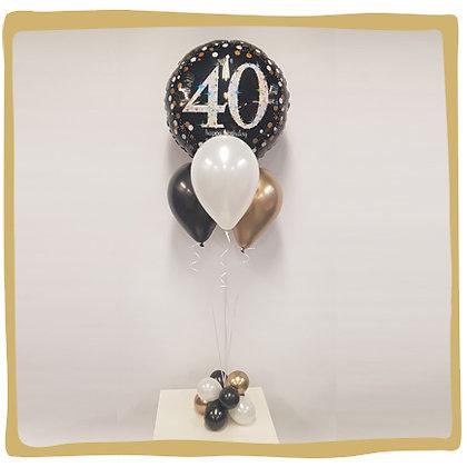 Ballonboeket - 40 jaar