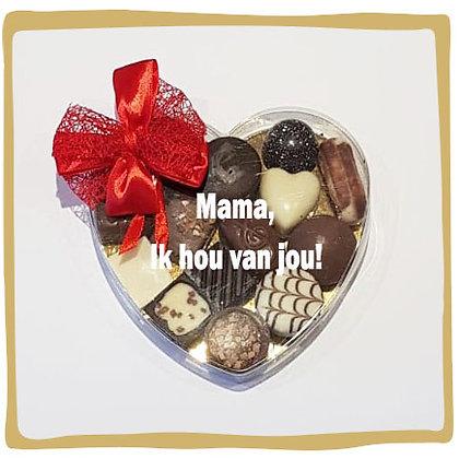 Pralines - Hart - Mama, ik hou van jou