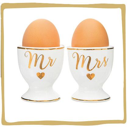 Mrs & Mr - Eierdopjes