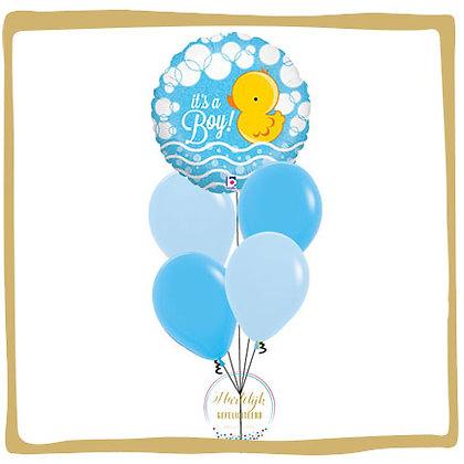It's a Boy Ducky - Helium Ballonboeket