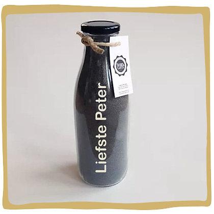 Liefste Peter - Scrubzout black - Personaliseerbaar