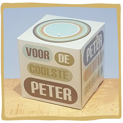 Tissue Box - Voor de beste Peter