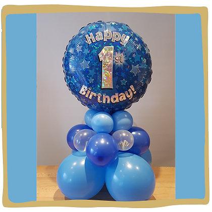 Happy Birthday - Ballon Geschenk met geld