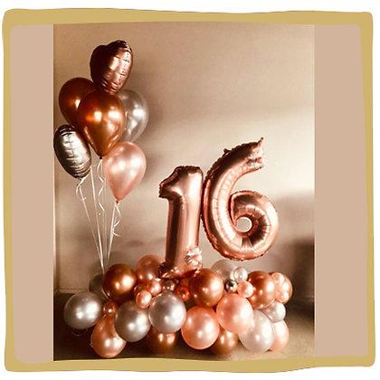 Sweet 16 - Ballondecoratie