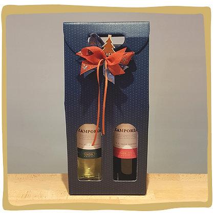 Wijnflessen Geschenkpakket