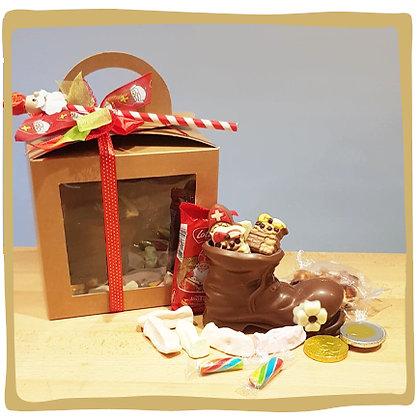 Gevulde laars in gift box