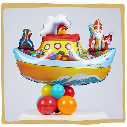 Stoomboot Ballon - 80cm