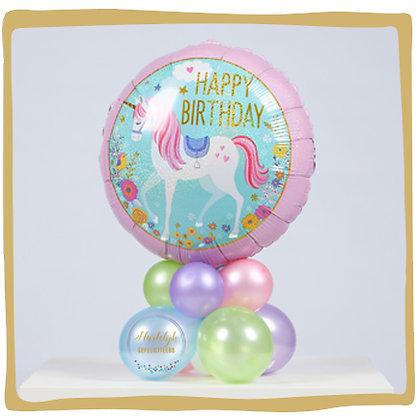 Verjaardag Unicorn - Ballongeschenk