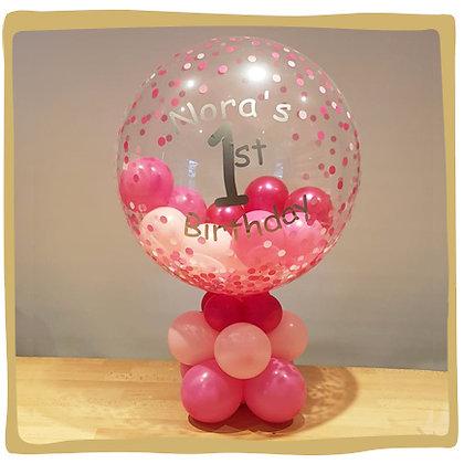Gepersonaliseerd Bubble verjaardag