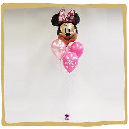 Ballon boeket Minnie