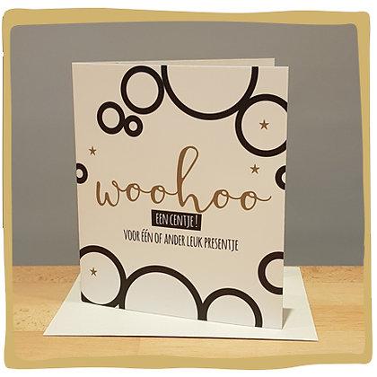 Geldkaart - Woohoo Centjes