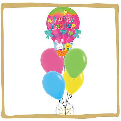 Happy Easter Luchtballon - Helium Ballonboeket