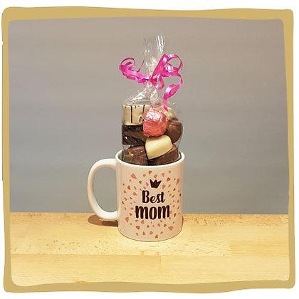 Gevulde Mok - Best Mom - I love you