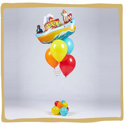 Stoomboot - Ballonboeket