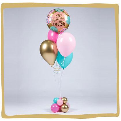 Helium Ballonboeket - Stay Fabulous - Verjaardag
