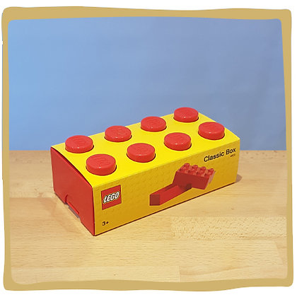 Lego Boterhamdoos - Rood