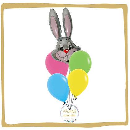 Classic Bunny - Helium Ballonboeket
