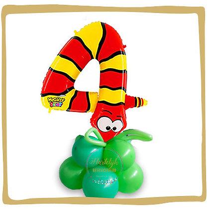 Nummer 4 Ballon - Slang