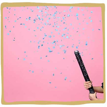 Confetti Shooter - Blauw