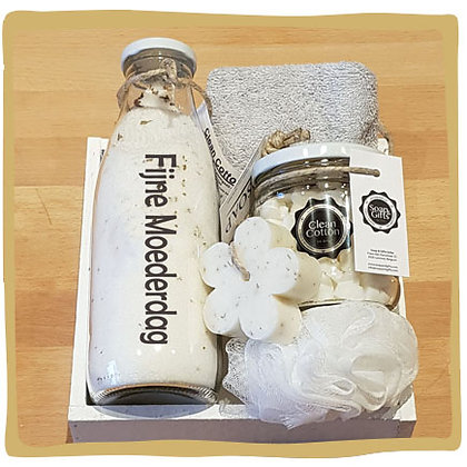 Luxe Giftset Clean Cotton - Gepersonaliseerd