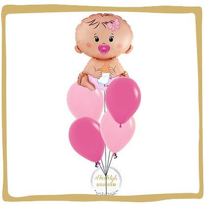 Baby Meisje - Helium Ballonboeket