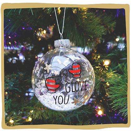 Kerstbal - I Glove You