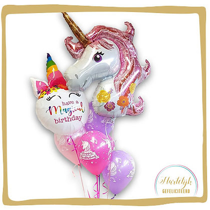Unicorn - Ballon Boeket MAXI