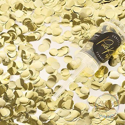 Confetti Push Pop-Goud