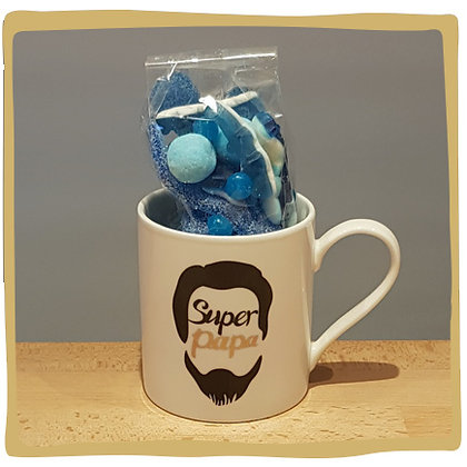 Super Papa Mok Wit + Snoep