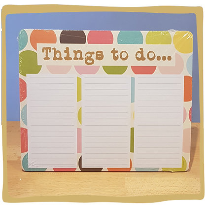 Things to do - Blocknote
