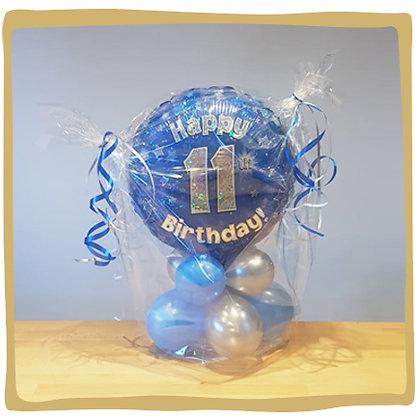 11th Birthday - Ballon Geschenk
