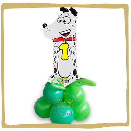 Nummer 1 Ballon - Puppy