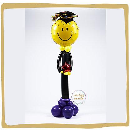 Geslaagd - Ballonpilaar - 1m80