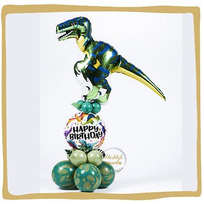Dinosaurus - Ballonpilaar - 1m70