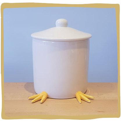 Koekjespot - Pasen - Pootjes omlaag