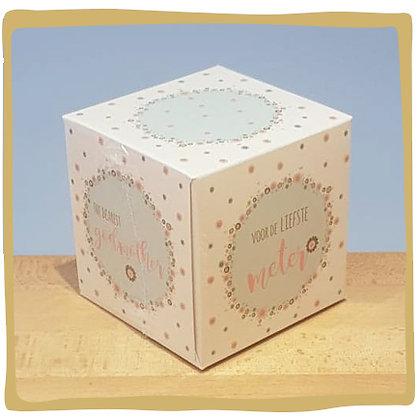 Tissue Box - Voor de Liefste Meter
