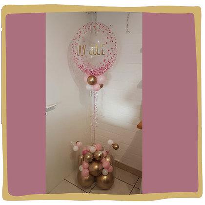 Gepersonaliseerde Bubble Ballon - Luxe