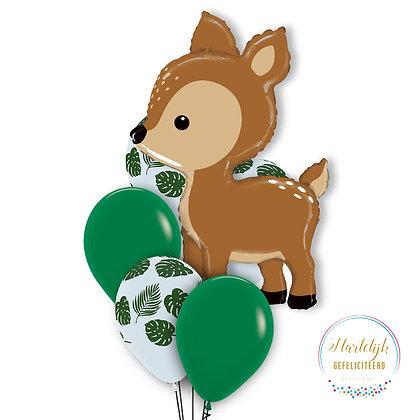 Ballonnen boeket- Hert